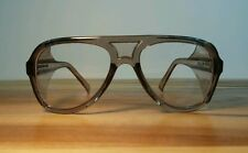 Vtg NOS New Deadstock Safety Glasses Goggles Aviator Motorcycle Engineer Osha