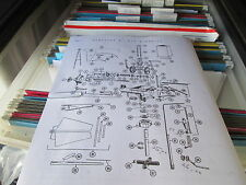 6ft Dempster #12 Windmill Parts List and Diagrams