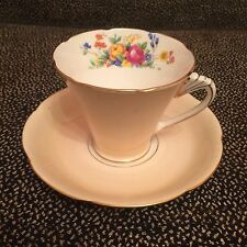 Vintage A. B. J. Crafton China Teacup & Saucer - Made In England