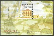 Macau - Übergabe der Souveränität Macaus 1999 postfrisch Mi.1041 Block 68