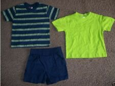 Park Bench Kids Infant Baby Boys 3 Piece Shirts and Shorts Outfit Set 12 Months