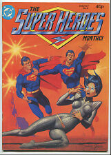 1981 The Super Heroes Monthly Vol 1 #4 ~Superman Cover~UK~ (Grade 8.0)