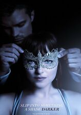 Fifty Shades Darker (50 Shades Of Grey) poster photograph - glossy A4 print
