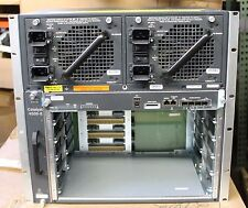 Cisco WS-C4506E Catalyst Switch w/ 1x WS-X45-SUP7L-E, 2x 4200 AC PSU