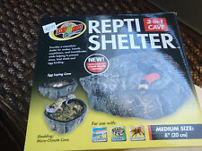 repti shelter 3 in 1 cave shelter