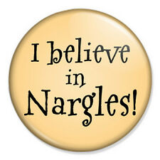 "I Believe In Nargles 25mm 1"" Pin Badge Button Harry Potter Magic J K Rowling"