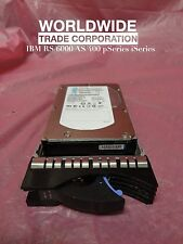 IBM 10N7200 3646 73.4GB 15K RPM SAS Disk Drive w/ Bracket pSeries Free Warranty