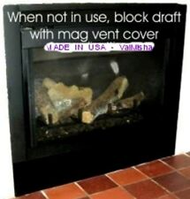 "6""x42"" NEW HEAVY DUTY MAGNETIC FirePlace VENT COVERS MOST POWERFUL on MARKET"
