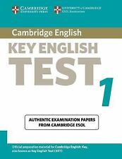 Cambridge Key English Test 1 Student's Book: Examination Papers from the Univers