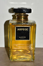 VTG Lanvin Arpege Biggest Perfume Bottle Factice Dummy 2 1/2 lb Bottle