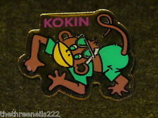SHAPED PIN BADGE - KOKIN - MONKEY