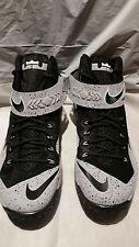 New! NIKE LEBRON ZOOM SOLDIER VIII WOLF GRAY King James 688579-001  Size 9