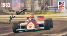 1982sa McLAREN COSWORTH MP4B DETROIT F1 Cover signed JOHN BARNARD