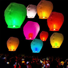 2Pcs Chinese KongMing Wishing Sky Flying Lanterns Fire Light Lamp Wedding Party