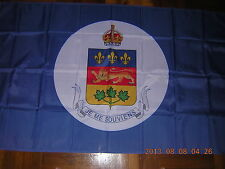 British Empire Flag of the Lieutenant-Governor of Quebec Canada Ensign, 3ftX5ft
