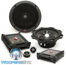 "ROCKFORD FOSGATE POWER T252-S 5.25"" COMPONENT SPEAKERS TWEETERS CROSSOVERS NEW"