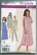 Misses Size 18 20 22 Dress Uncut Sewing Pattern FREE Shipping Simplicity 8227 **