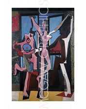 "PICASSO PABLO - THE THREE DANCERS, 1925 - Artwork Reproduction 14"" x 11"" (4168)"