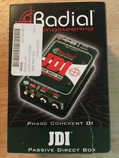 Radial Engineering JDI Jensen Equipped Passive DI Box FREE SHIPPING!!! NEW
