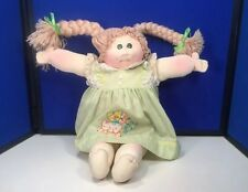Vintage 1978 Soft Sculpture Little People Cabbage Patch Kid Baby Doll Blonde