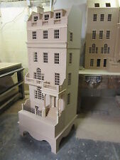 Doll House 12 Escala el Burlington Town House En Kit Dhd 15-02