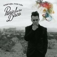 PANIC! AT THE DISCO - TOO WEIRD TO LIVE,TOO RARE TO DIE!  CD NEU