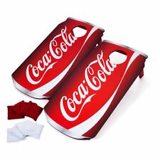 Coke Coca Cola Can Bean Bag Toss Cornhole Corn Hole Game Boards SET