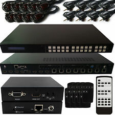 8x8 HDMI Matrix hdbt Lite Kit -1080 P 4K-Commutateur routing-distribution IR boîte de base
