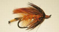 October Spey (orange)  2/0  Salmon Steelhead Flies