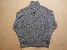Men's Fjall Raven Wool Button Neck Jumper Size XL Genuine Mint