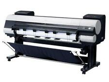 """NEW! Canon imagePrograf IPF9000 12 color 60"""" wide format printer 2400x1200 80GB"""