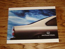 Original 1994 Honda Full Line Sales Brochure 94 Accord Civic del Sol