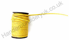 Gold Mylar Cord 15mm Round for Army, Military, Uniform, Costume, Fancy
