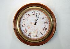 Orologio da Parete In Legno Artigianale Numeri Romani Muro Classico 3793