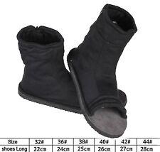 Black Naruto Konoha Ninja Village Cosplay Shoes Sandals Boots Costume Gift US7.5