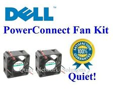 Quiet Dell PowerConnect 2124 Fan Kit, 2x Fans 12dBA Noise
