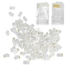 200 Pcs RJ45 Plug Cat6 8P8C Lan Connector Network