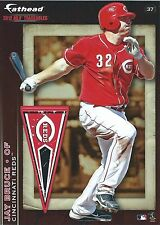 JAY BRUCE CINCINNATI REDS MINI FATHEAD TRADEABLE 2012 REMOVABLE STICKER 37