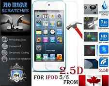 2.5D 9H Premium REAL Tempered Glass Apple ipod 5 6 5th 6th Screen Protector NEW-