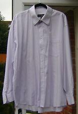 Nicole Miller Pale Mauve Cotton Shirt - 17.5 (XL)