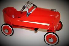 Pedal Car Vintage Soap Box Derby Racer Rare Classic Metal Midget Show Model