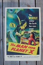 The Man from planet X Lobby Card Movie Poster Margaret Field