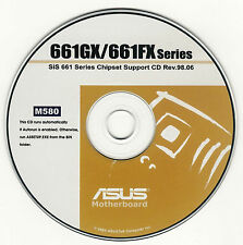 ASUS P4S8X-MX P4S800-MX SE Motherboard Drivers Installation Disk M580