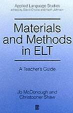 Applied Language Studies: Materials and Methods in Elt : A Teacher's Guide by...