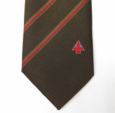 Union Jack tie RAF Red Arrows logo Showing the Way British flag emblem vintage