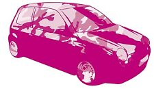PINK - LUPO CAMOUFLAGE GRAPHIC /STICKER( VW / STICKERBOMB STYLE) X1