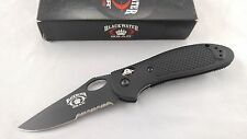 Benchmade 16550SBT Blackwater Gear Griptilian Norvl Knife -154CM Steel - RARE