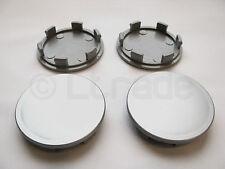 4x Nabenkappen Felgendeckel Nabendeckel Ø 60mm-54mm Silber Felgenkappen NEU