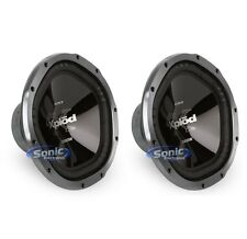 "(2) SONY XS-GTX120L 2400W 12"" 4 OHM CAR STEREO BASS SUB WOOFER SPEAKERS PAIR"