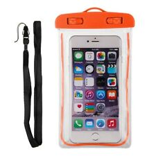 Luminous Glow Waterproof Underwater Pouch Dry Bag Case Cover for Samsung iPhone